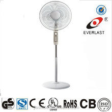 Home Appliances 2015 new model hot sell good quality elegant design 16 inch Stand fan with remote control