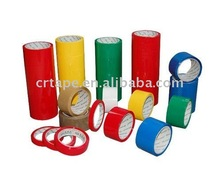 bopp color adhesive tape with width 24mm,36mm,45mm,48mm,60mm,72mm