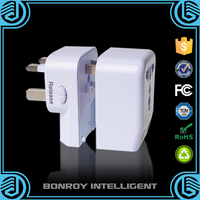 The attractive helpful portable travel usb multi pin power adapter of quality warranty