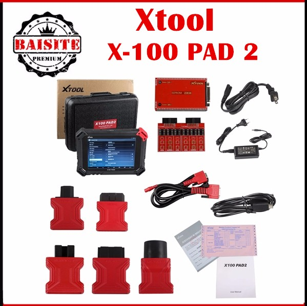 100% Original XTOOL X-100 PAD2 Diagnostic Tool X100 PAD2 Support Key Programmer Odometer Adjust Update Online