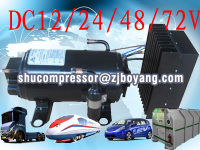 Auto air conditioning battery power car air conditioning system electric a/c system for cars