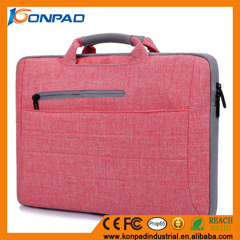 Nylon Oxford laptop charging case,laptop carrying case,hard shell laptop case