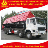 Chinese 40 ton Side lifting 8x4 sand tipper truck