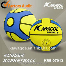 5 inch rubber basketball
