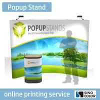 Brand new Long Life fabric pop up banner