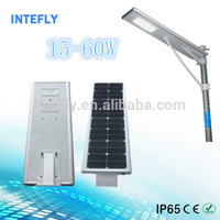 The Most Popular Safe 40w 60w 70w 75w solar led street light With Outdoor Cctv Camera