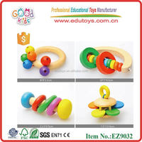 Infant Toy,Percussion Bell,Educational Wooden Funny Baby Toys