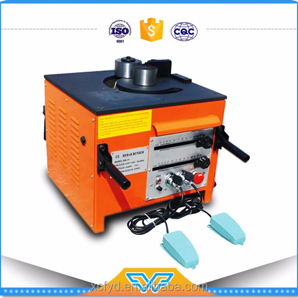 portable 25mm rebar bending machine,steel bar bending machine made in China