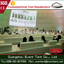 Strong outdoor conference big dome tent, meeting room geodesic dome tent, party camping round dome tent