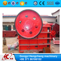 ISO9001 approved PE series jaw crusher price list