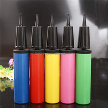 Mini hand air pump use for ball and balloon different colors available
