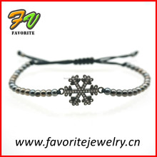fashion bracelet accessories with micro pave charms
