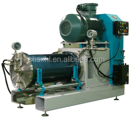 Horizontal sand mill for paint , printing Ink , pesticide SC, pigment