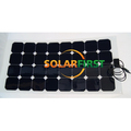 light weight 100w flexible solar panel with TUV/PID/CEC/CQC/IEC