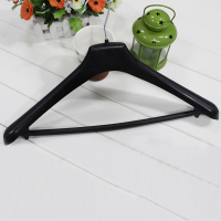2016 China Supplier Top Quality Black Plastic Suit & Pants Hanger