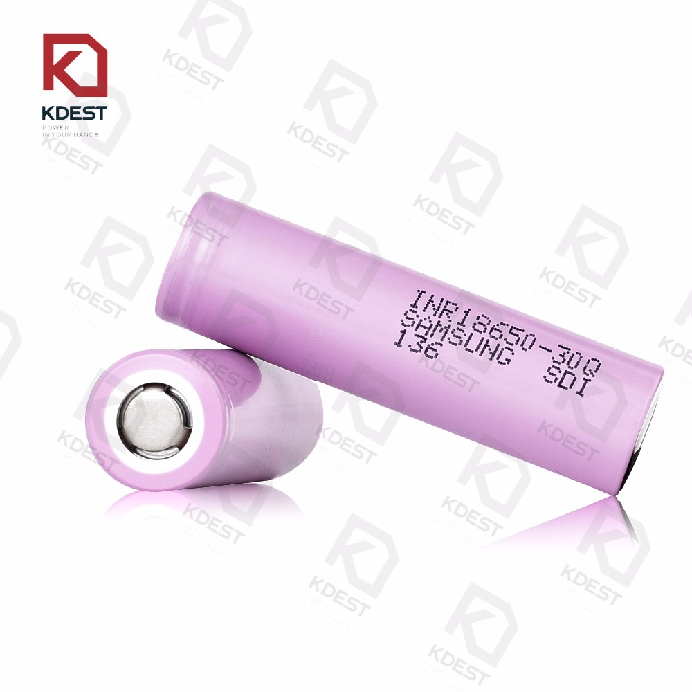 High Capacity Original 18650 Battery For SAMSUNG 30Q 3000mah 3.7V Battery Vape Bttery