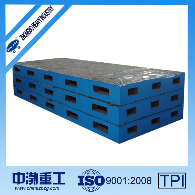Hot sale Foundation Cast Iron Surface Plate,cast iron working plate