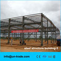 light and duable steel structure shed