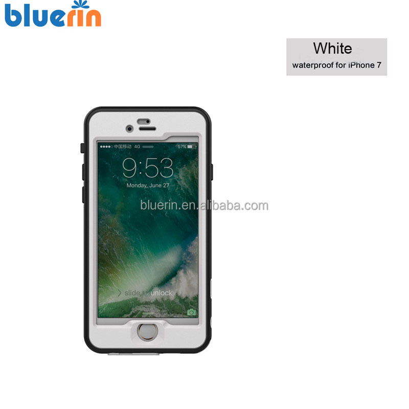 New UltraThin Clear Sound Waterproof case for iPhone 7 Plus