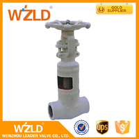 WZLD Lower Price ANSI/ASTM, API598 Standard Forged Bellows Seal Steam Globe Valve