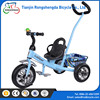 factory offer cheap price plastic baby tricycle / baby twins tricycle for children / baby walker tricycle for 3-5 years old