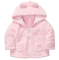 Girls Baby Outwear Clothing Baby Jacket Coral Fleece