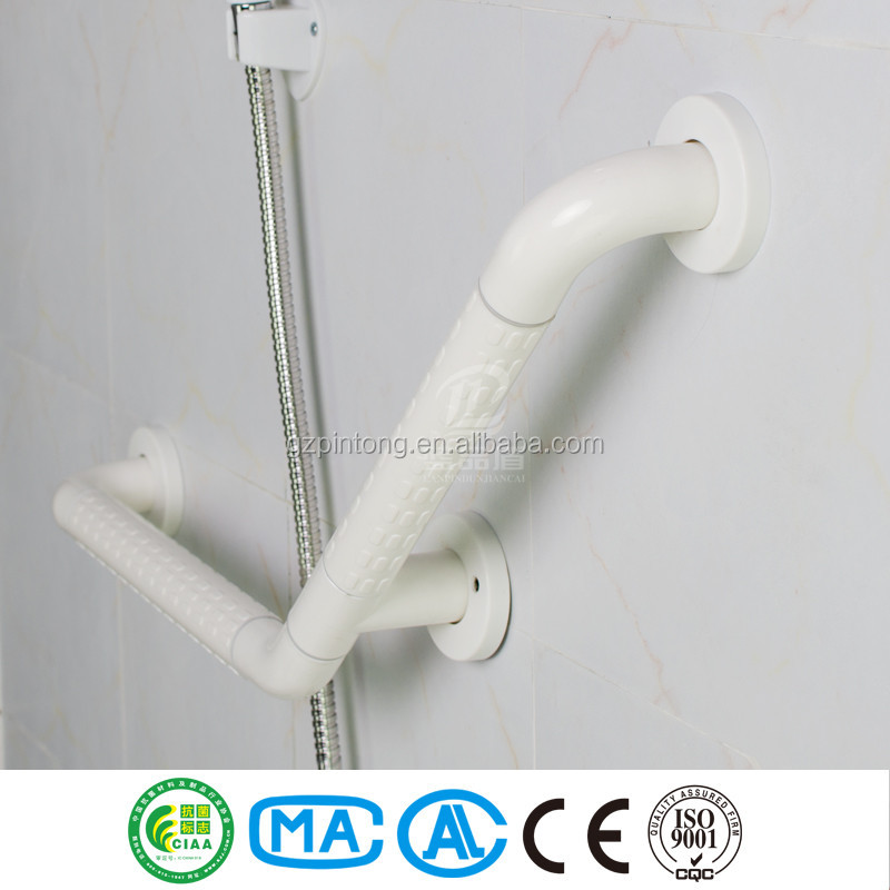 Toilet and bathroom handrail grab bars for disabled