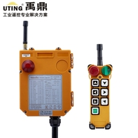 Nice F24-6S industrial wireless universal radio remote control distance for overhead crane AC/DC