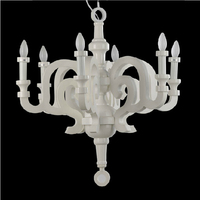 Modern Resin Paper Chandelier Lamp