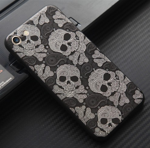 Fashion Design Decorate Cell Phone Case, TPU+PC Hybrid Mobile Phone Hard Case Back Cover