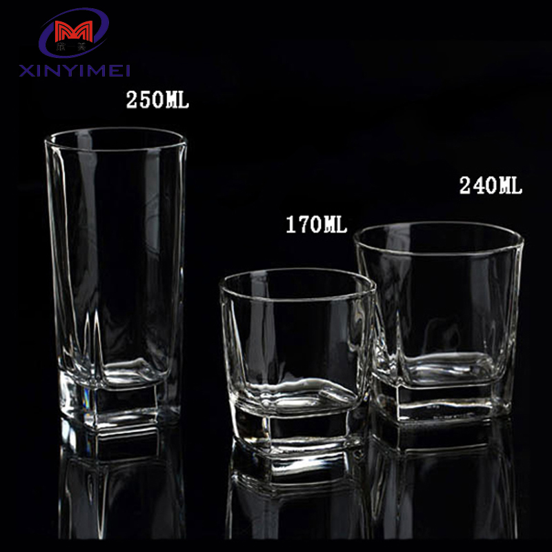 Cheap and hotsale drinking water glass