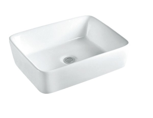 Different Types Of Ivory Rectangle White Color Basin