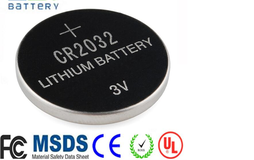 EWT high quality watch battery 3v lithium battery CR2032 button cell battery