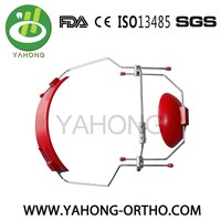 orthodontic adjustable double face mask