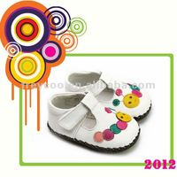 Crochet Knitting Baby Shoes PB1067WH