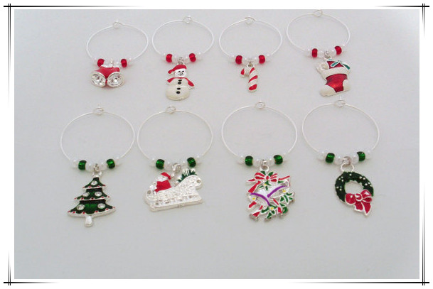 homemade jewelry christmas wine charms promotional wine charm for holiday gift buy wine charmchristmas wine charmschristmas charms product on alibaba - Christmas Wine Charms