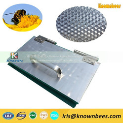 Beekeeping factory for making beeswax sheet - notebook type 220*420mm size beeswax foundation sheet mold