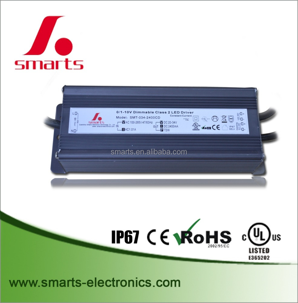 waterproof IP67 led driver dali 60w 1050mA LED Driver