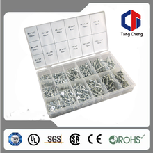 Hardware Tangcheng TC-3037 550pc Hot sales in American Self Tapping Wood Screw Assortment