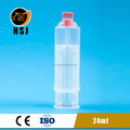 24ml 1:1 plastic AB side epoxy syringe