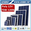 Professional solar module clamp poly 100w 25 years warranty solar lighting system 80w 12v solar panel pv kits