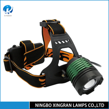 High power rechargeable 1200lm led headlight with 18651 li ion battery