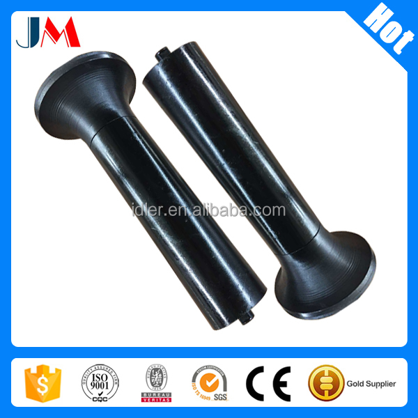 Steel idler roller support/carry/trough roller made in China