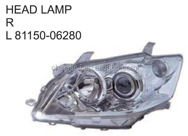 Auto HEAD LAMP For Toyota CAMRY 2006 OE:81110-06220 81150-06220 81110-06490 81150-06490 81145-8C005 81185-8C005 81150-06280