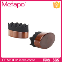 Customized wood curling barber salon hair twist sponge