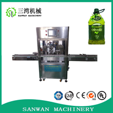 Guangzhou Sanwan Full auto olive oil filling machine,washing and filling olive oil bottles