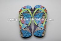 2013 new fashion summer pe slippers custom flip flops