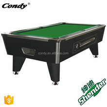 Shender commercial cheap coin operated pool tables coin-OP billiard table