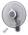 Hot selling high class 16'' inch electric wall mounted fan with remote control
