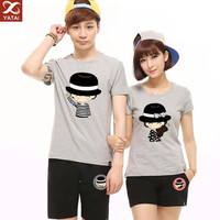 custom high quality cheap t shirt korea design